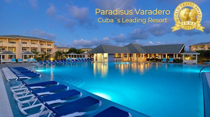 Paradisus Varadero, galardonado en World Travel Awards 2019