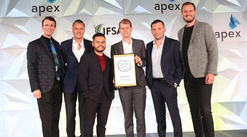 APEX otorga cinco estrellas a Aeroméxico