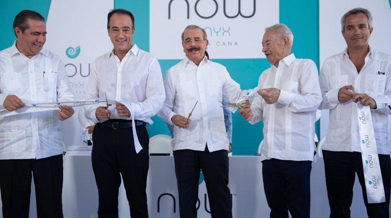 El Presidente de República Dominicana inaugura ampliación del hotel Now Onyx