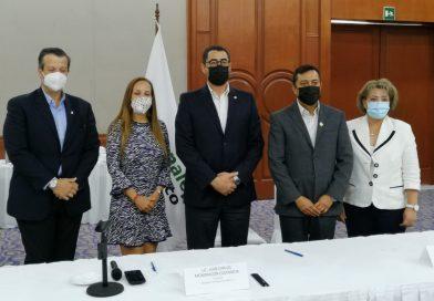 La Asociación de Hoteles de Jalisco A.C. y CONALEP jalisco firman convenio de colaboración.