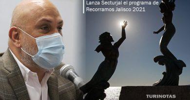Lanza Secturjal el programa de Recorramos Jalisco 2021